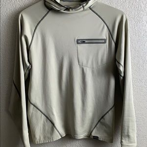 Patagonia base layer long sleeve with hood size S